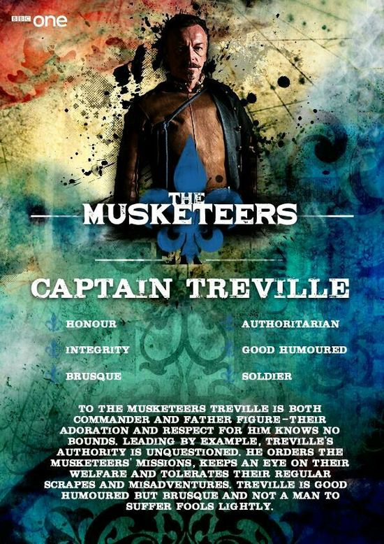 8 best The Musketeers - Captain Treville images on Pinterest The - example flyer