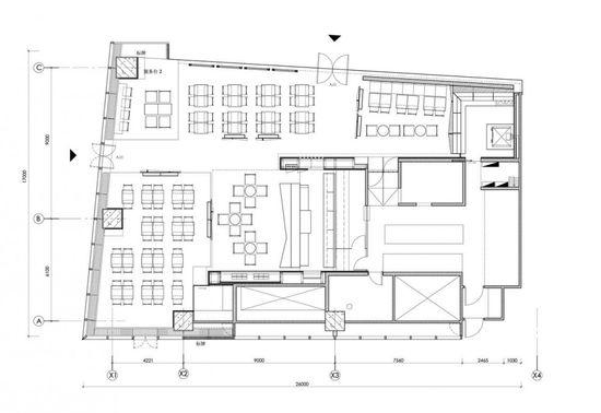 16 best Bar Restaurant Cafe (plan) images on Pinterest Industrial - fresh e blueprint denver