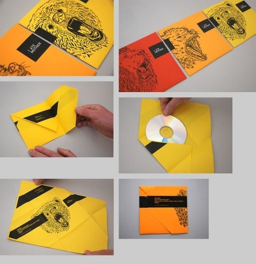 166 best CD images on Pinterest Cd design, Invitations and Packaging - packaging slips