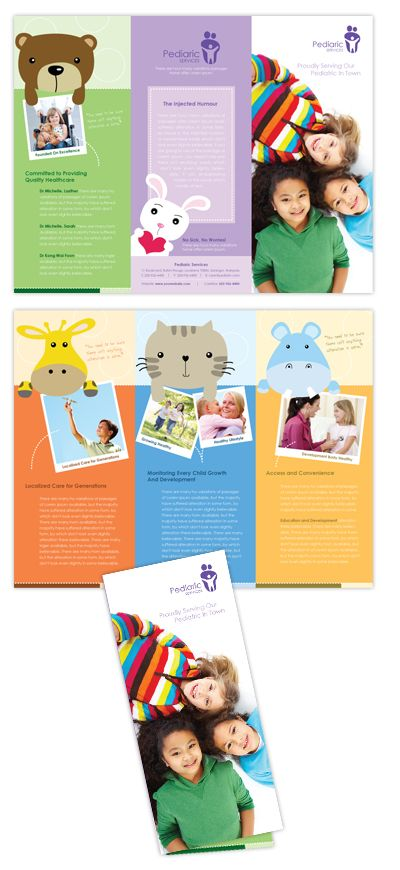22 best Brochure images on Pinterest Brochure design templates - daycare flyer template
