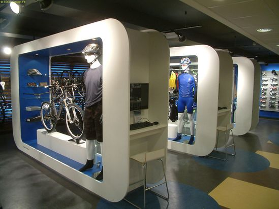 19 best Retail Design Bike Stores images on Pinterest Projects - concrete wall design example