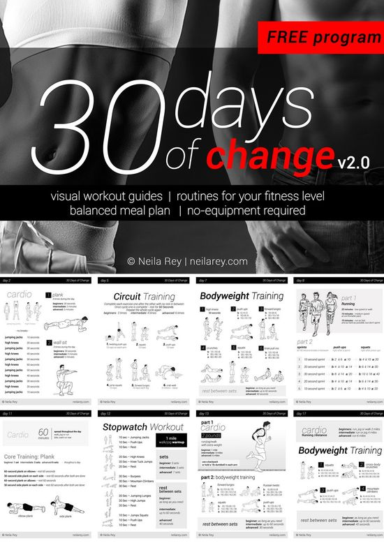 208 best Whatu0027s the Plan? images on Pinterest Exercises - workout program sheet