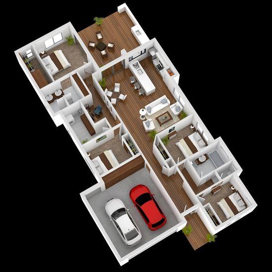 1087 best House Plan images on Pinterest Floor plans, Architecture
