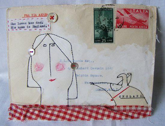 111 best decorated envelopes images on Pinterest Postcards - printable lined paper sample