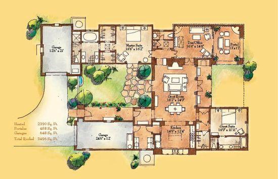 1831 best ㉔ ⊶ ᗩ̸ᖇ̸ᑕ̸ᕼ̸ images on Pinterest Floor plans - plan 3 k che