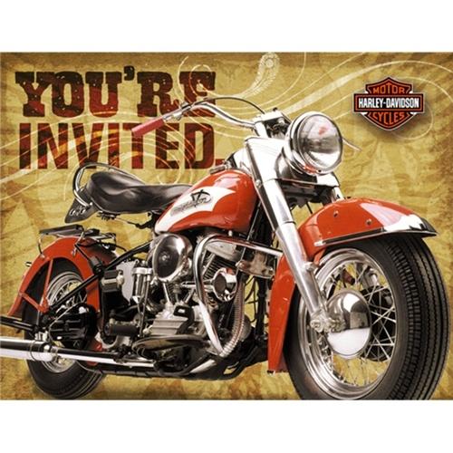 118 best Harley Davidson Party images on Pinterest Harley - retirement invitation