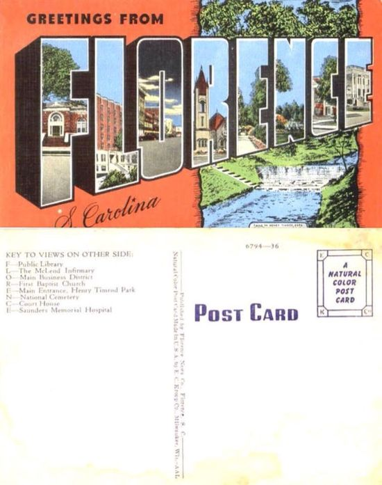 25 best Florence SC - Remember When images on Pinterest - religious brochure