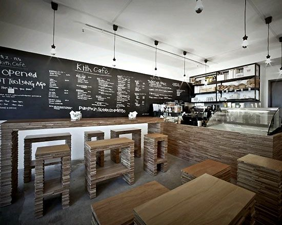 232 best Coffee Shop Design images on Pinterest Tents - concrete wall design example