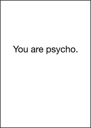 685 best Psycho! images on Pinterest Funny stuff, Ha ha and - kick ass cover letters