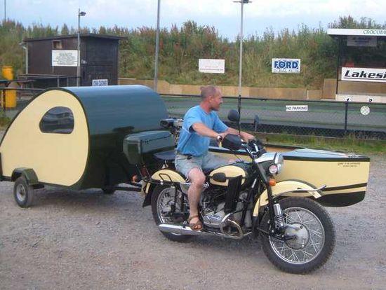 47 best Motorcycle campers images on Pinterest Teardrop caravan - trailer bill of sales