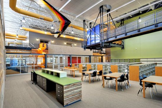 179 best School Interior Design images on Pinterest Learning - concrete wall design example