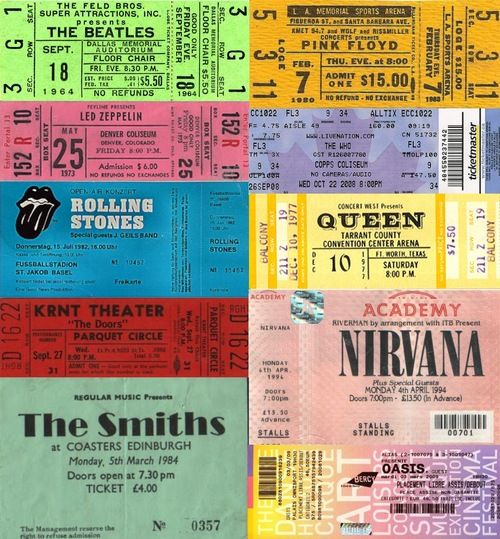 383 Best Concert Tickets \ Backstage Passes Images On Pinterest   Make Your  Own Concert Tickets  Make Your Own Concert Tickets