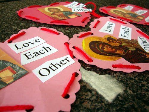 116 best Sunday School images on Pinterest Crafts for kids - valentine craftf
