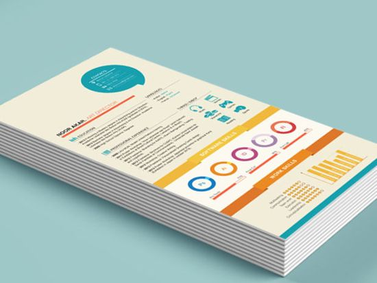 104 best Design - Creative CV \ business cards images on Pinterest - what is a good resume title