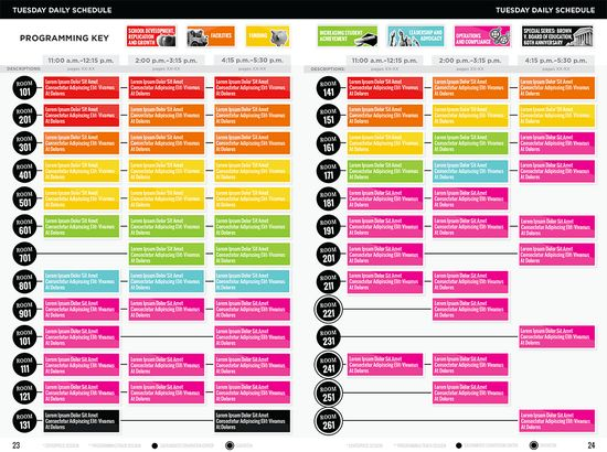 7 best Conference Schedules images on Pinterest Conference - agenda creator