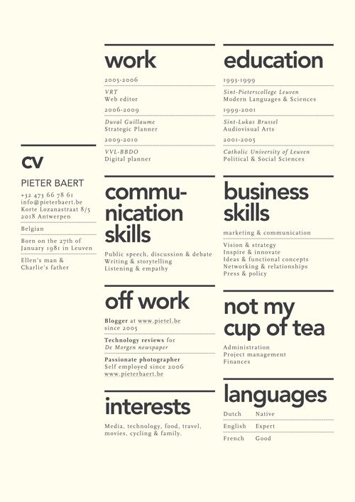 149 best Architecture Portfolio Ideas images on Pinterest Page - most common resume format