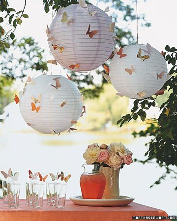 108 best LANTERNS AS PARTY DECOR images on Pinterest Paper - lined papers