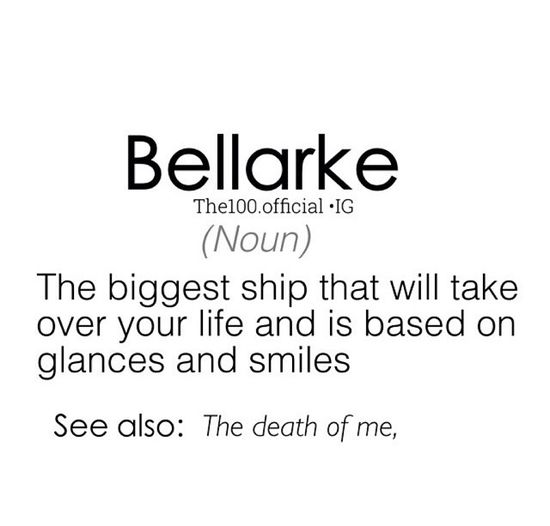 210 best Bellarke images on Pinterest Bellarke, Bob morley and - 2 weeks notice