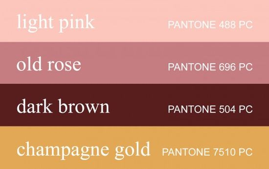 107 best Brown \ Pink Wedding Inspiration images on Pinterest - chef templates