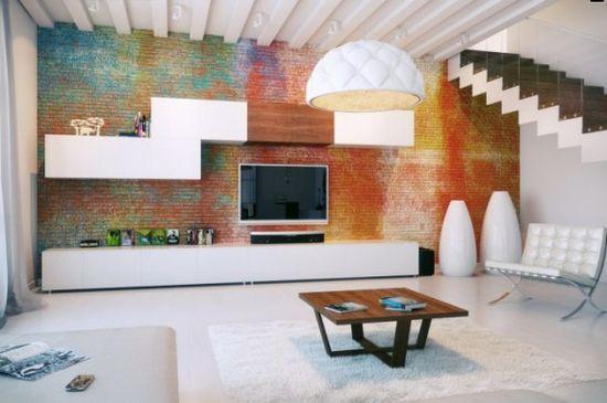 111 best Brick Feature Walls images on Pinterest Bricks, Brick - concrete wall design example