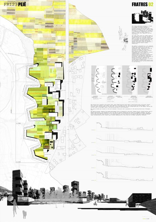 157 best Architecture Presentation Boards images on Pinterest - project presentation