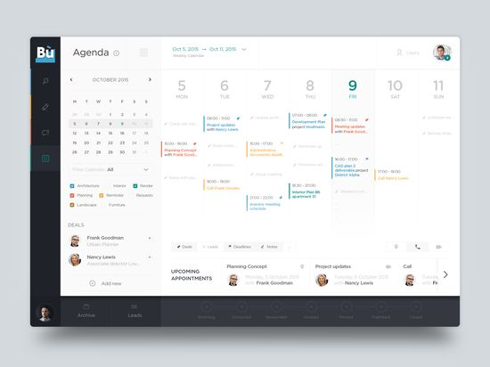 198 best UI - Intranet images on Pinterest Dashboard design - how to create a agenda