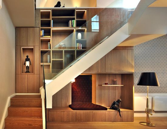1515 best Stairs + Ramps images on Pinterest Homes, Interior - concrete wall design example