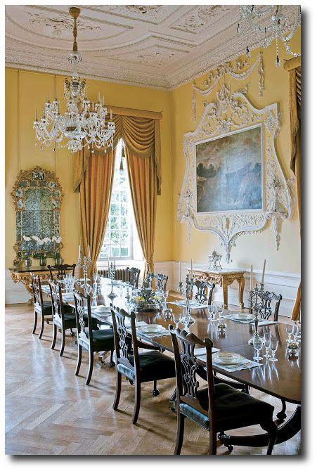 102 best English Manor Interiors images on Pinterest English