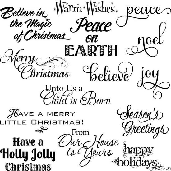 230 best christmas sentiments images on Pinterest Cards - thank you notes sample