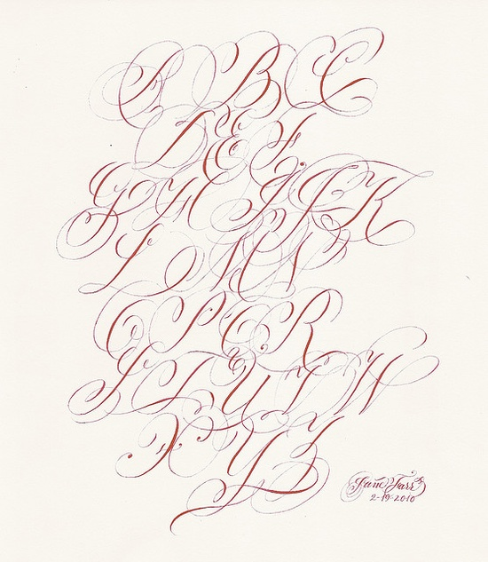 134 best Calligraphy Flourish images on Pinterest Calligraphy - thank you letter for scholarship award