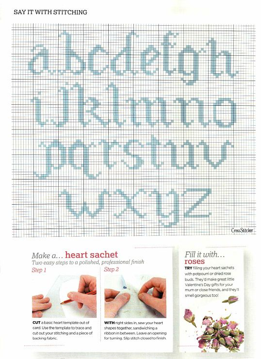 464 best Cross Stitch Alphabet images on Pinterest Cross stitch - baby size chart template