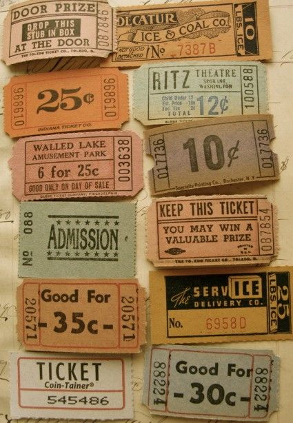 200 best Ephemera - Vintage Tickets images on Pinterest - printable fake airline tickets