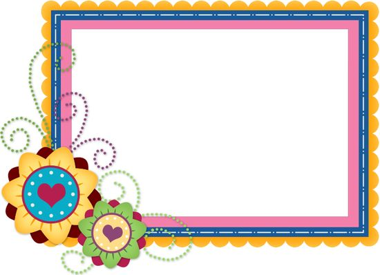 3805 best FRAMES BORDERS images on Pinterest Scrapbook frames - birthday card layout