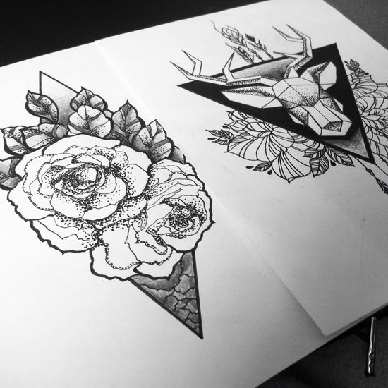 111 best Tattoos - Geometric   day of the dead images on Pinterest - tattoo consent forms