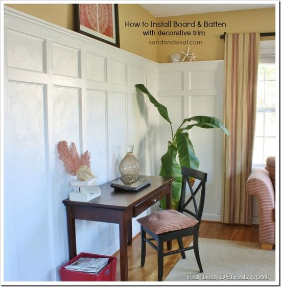 100 best DIY Molding Trim and Wainscoting images on Pinterest - door hanger template