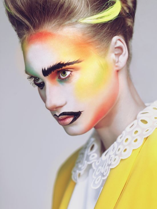 100 best Coloured Skin images on Pinterest Artistic make up - küchen u form
