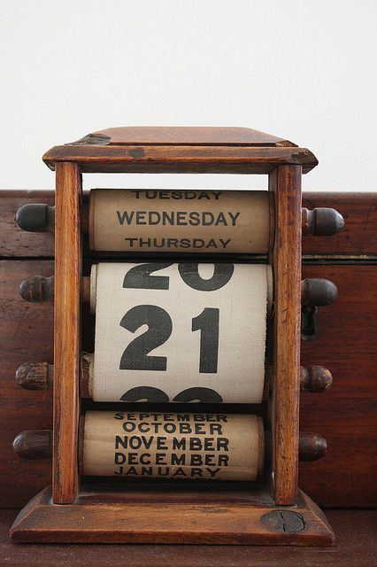 198 best calendar images on Pinterest Perpetual calendar, Desks - how to make a perpetual calendar