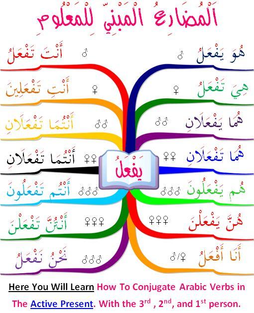 185 best arab, arabic verbs images on Pinterest Arabic language - verb list