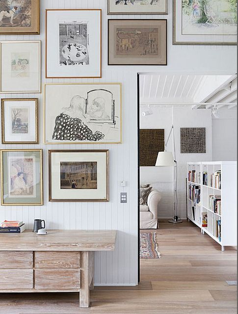 100 best Creative Gallery Wall Ideas images on Pinterest