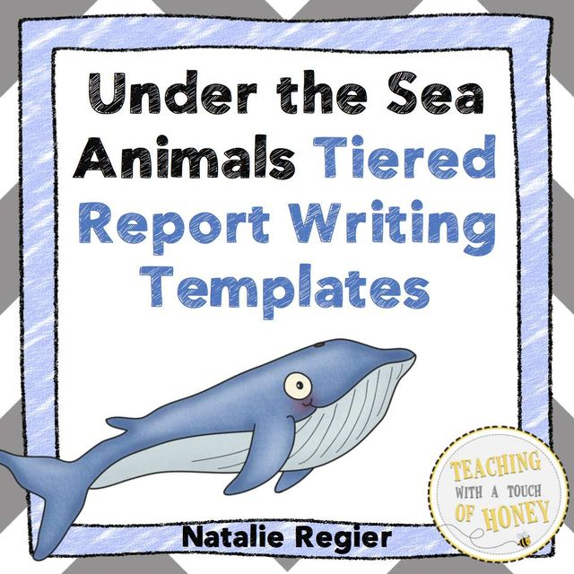 367 best UNDER THE SEA ideas images on Pinterest School, Ocean - animal report template