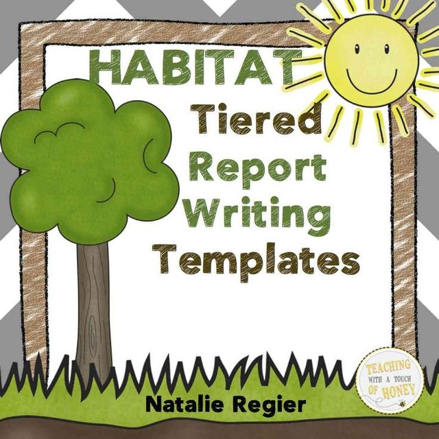 491 best HABITAT activities images on Pinterest Informational - cereal box book report sample