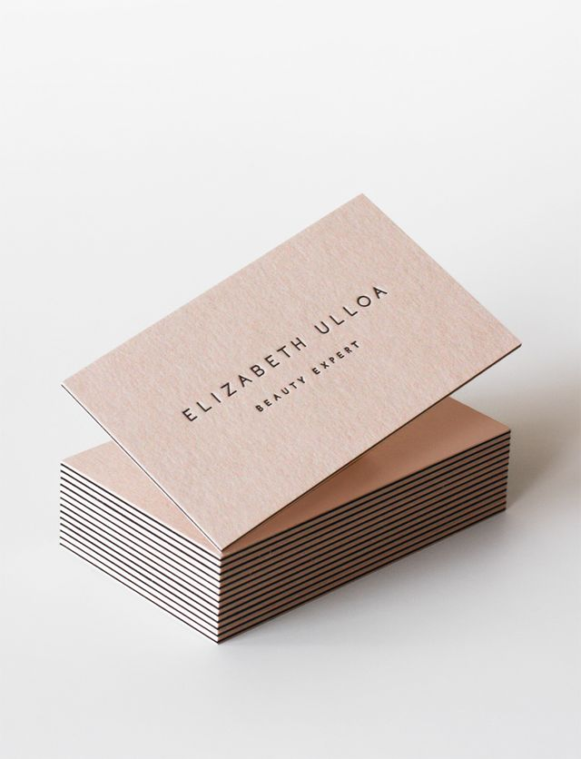 149 best Business Cards  images on Pinterest Brand identity - Letterpress Business Card