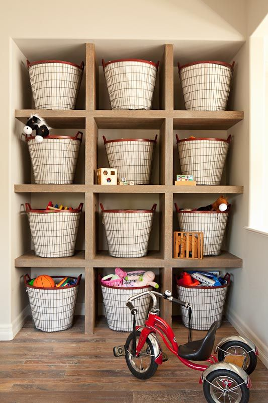 105 best Organized Kids images on Pinterest Play rooms, Child room - idee de rangement garage