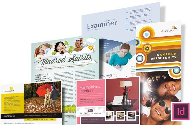 22 best InDesign Templates images on Pinterest Indesign - web flyer