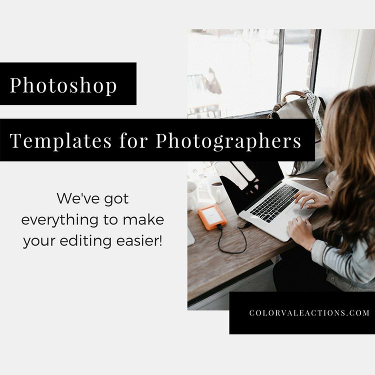 108 best Photoshop Templates For Photographers images on Pinterest - basic p amp amp l template
