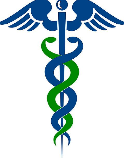 Rod Of Asclepius, Medical, Medic, Health, Pharmacy, Doctor