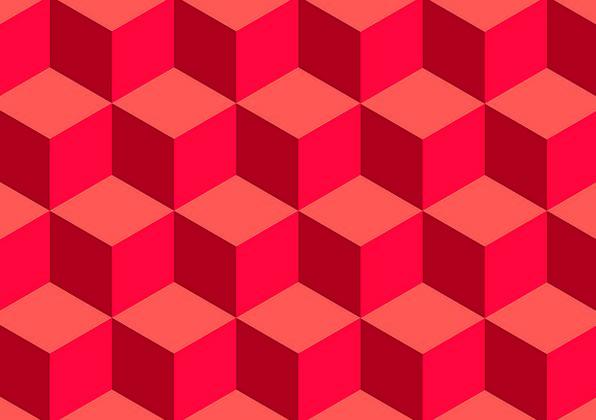 3d Moving Desktop Wallpaper For Windows 7 Cube Pattern Pixcove