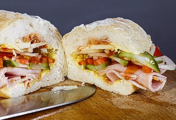 Ham Sandwich, Drink, Nosh, Food, Sandwich, Snack, Crust, Slice
