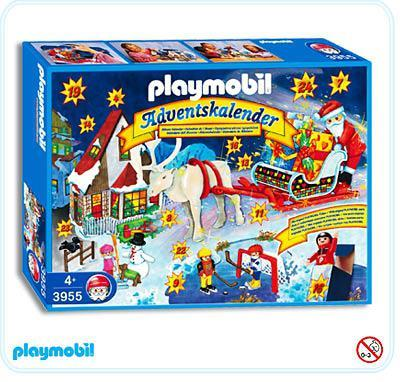 Straßenlaterne Playmobil Adventskalender Quotsanta Claus Quot 3955 A Playmobil