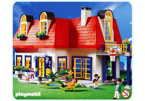 Playmobil Luxusvilla Küche Maison Contemporaine 3965 A Playmobil France